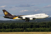 N576UP - UPS - United Parcel Service Boeing 747-400F, ERF aircraft