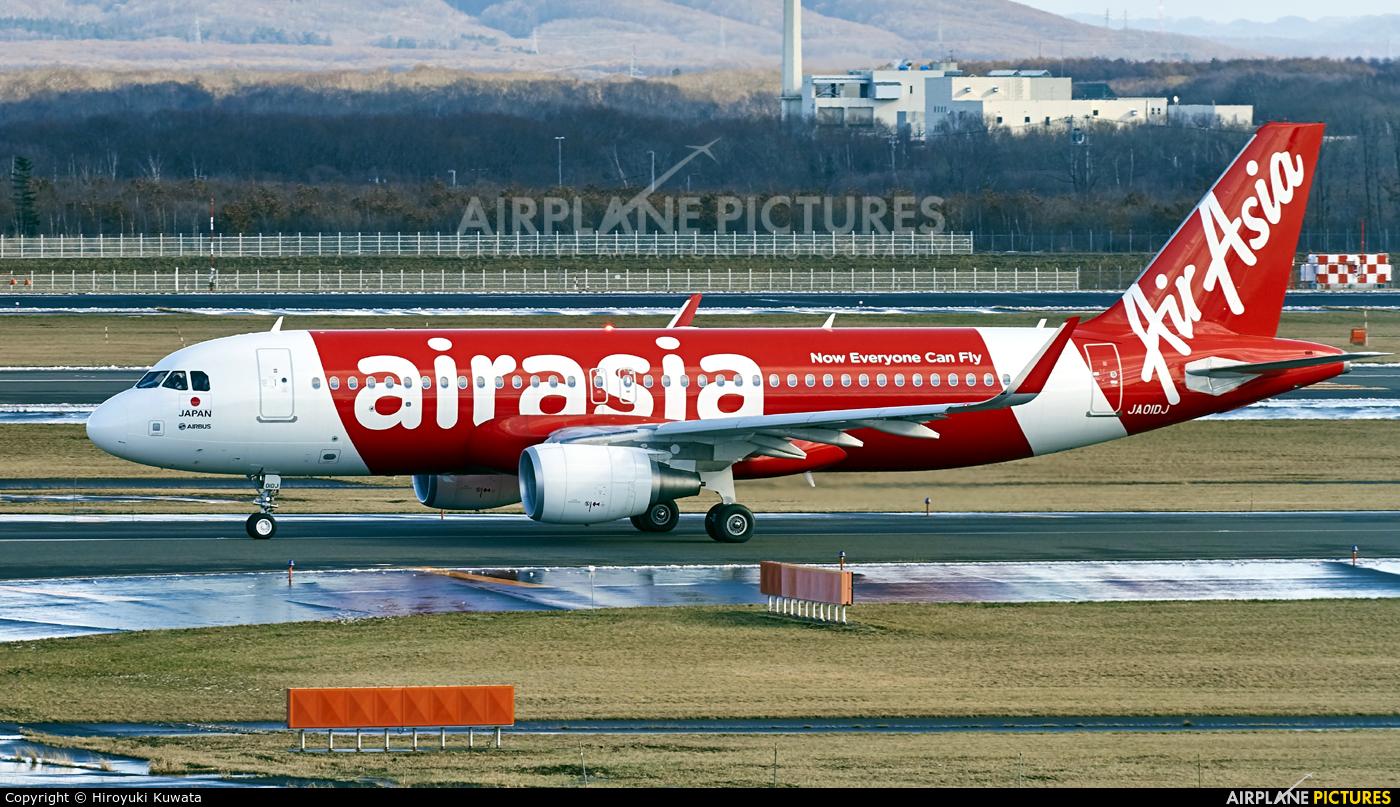AirAsia (Japan) JA01DJ aircraft at New Chitose