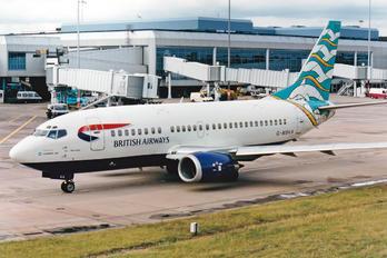 G-MSKA - British Airways - Maersk Air Boeing 737-500
