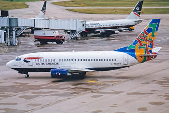 G-MSKB - British Airways - Maersk Air Boeing 737-500