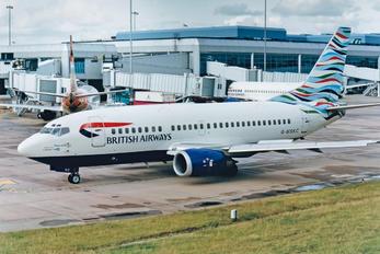 G-MSKC - British Airways - Maersk Air Boeing 737-500