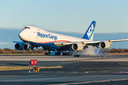 JA17KZ - Nippon Cargo Airlines Boeing 747-8F aircraft