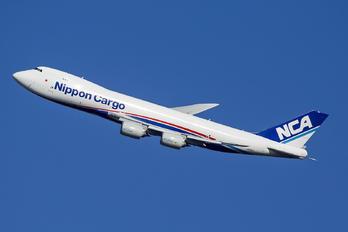 JA13KZ - Nippon Cargo Airlines Boeing 747-8F