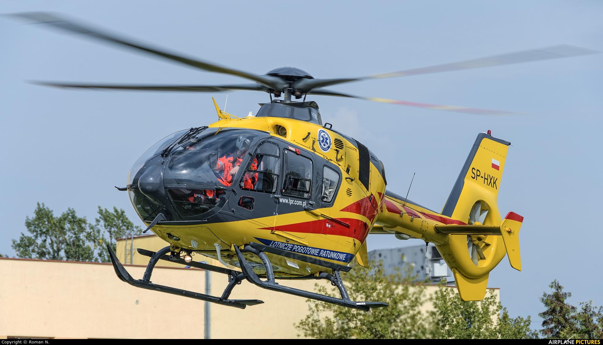 Polish Medical Air Rescue - Lotnicze Pogotowie Ratunkowe SP-HXK aircraft at Bydgoszcz - Off Airport