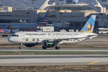 N213FR - Frontier Airlines Airbus A320
