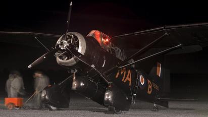G-AZWT - The Shuttleworth Collection Westland Lysander III