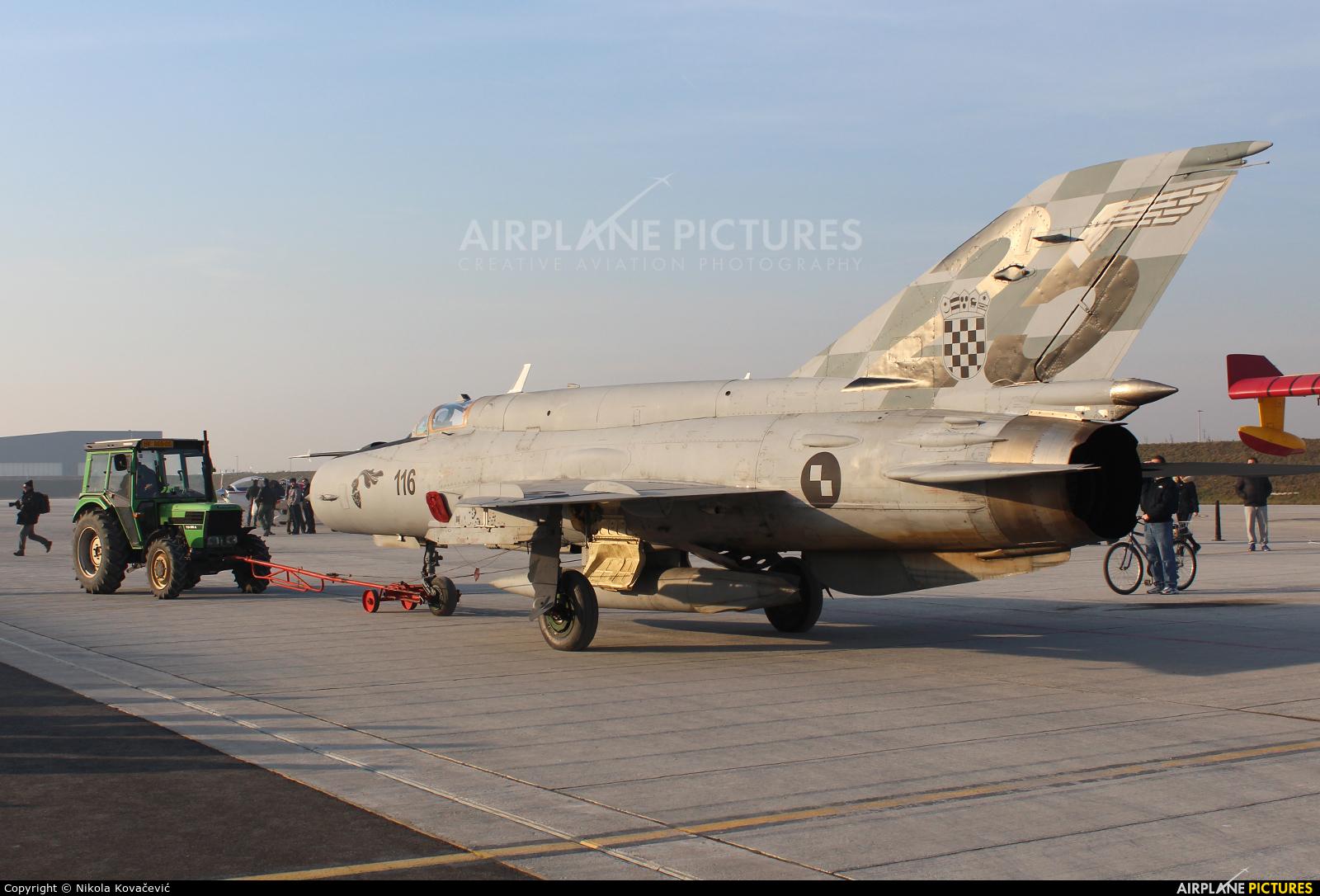 Croatia - Air Force 116 aircraft at Zagreb