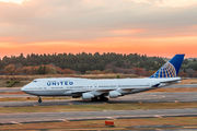 N127UA - United Airlines Boeing 747-400 aircraft