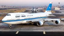 9K-ADE - Kuwait Airways Boeing 747-400 aircraft