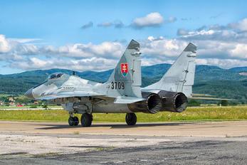 3709 - Slovakia -  Air Force Mikoyan-Gurevich MiG-29AS