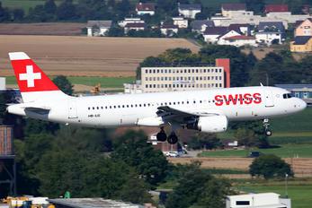HB-IJE - Swiss Airbus A320