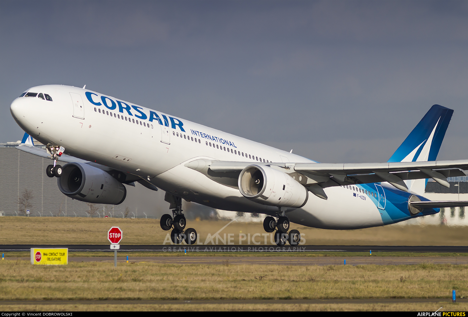 Corsair / Corsair Intl F-HZEN aircraft at Paris - Orly