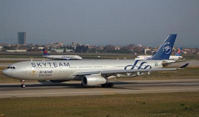 HZ-AQL - Saudi Arabian Airlines Airbus A330-300