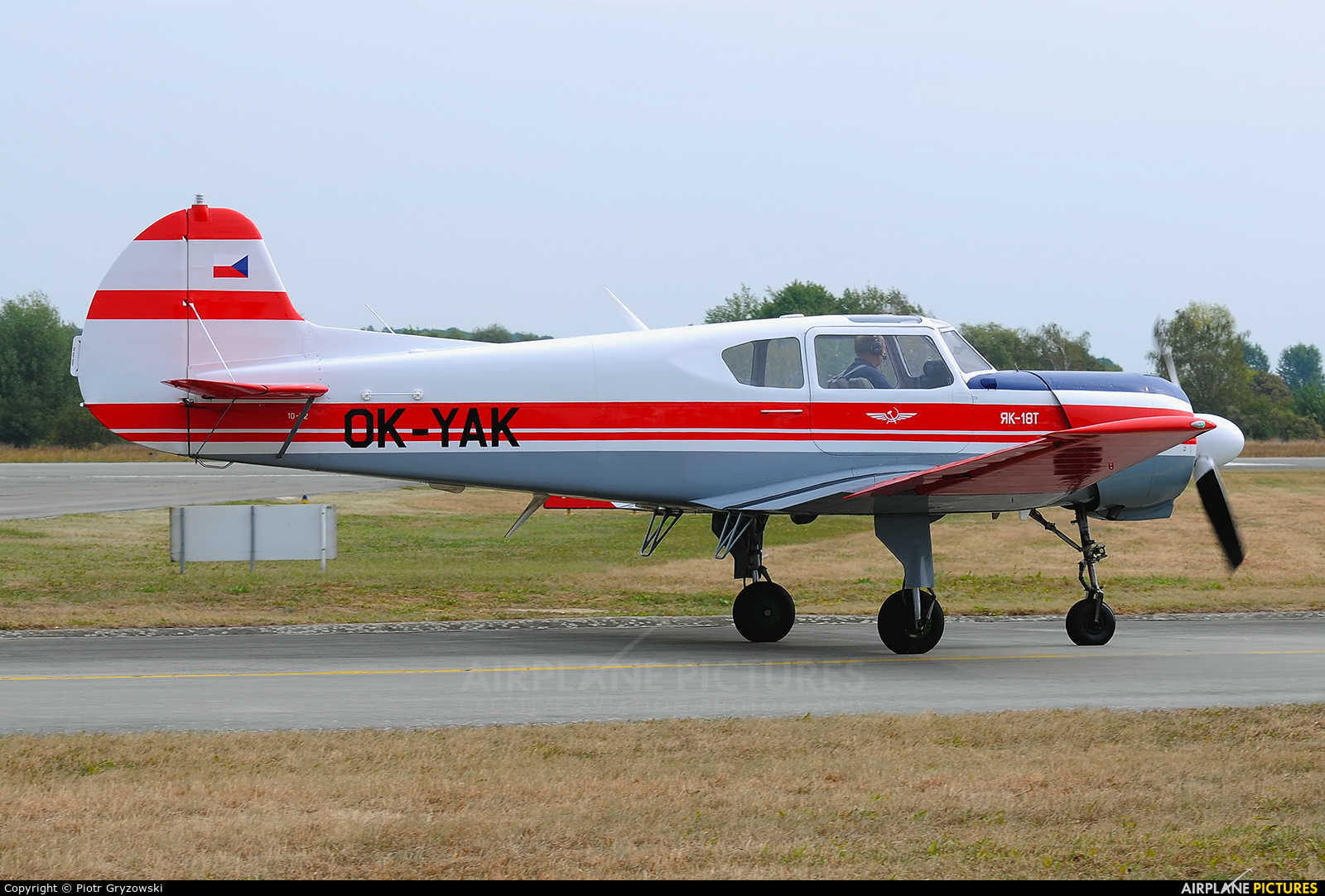 Private OK-YAK aircraft at Hradec Králové