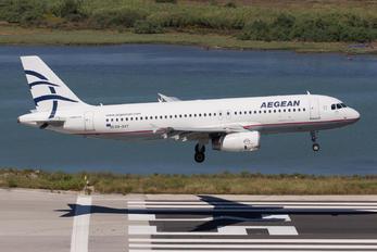 SX-DGO - Aegean Airlines Airbus A320