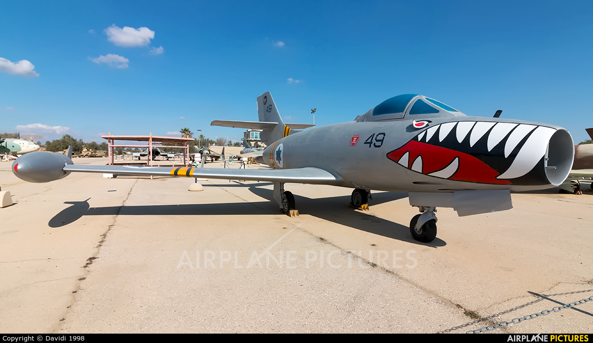 Israel - Defence Force 49 aircraft at Beersheba - Hatzerim