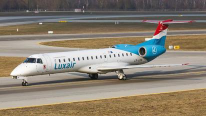 LX-LGX - Luxair Embraer ERJ-145