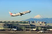 JA327J - JAL - Japan Airlines Boeing 737-800 aircraft