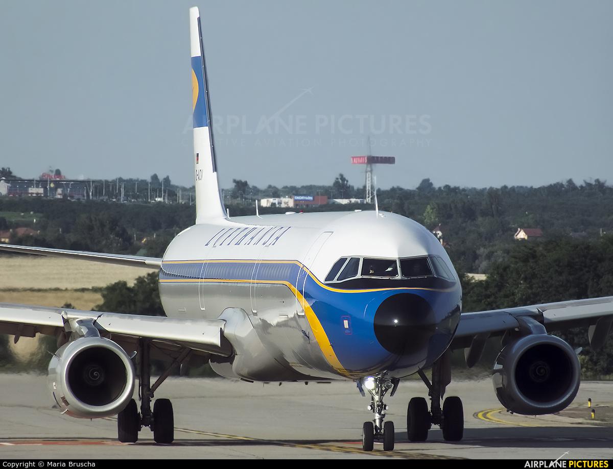 Lufthansa D-AIDV aircraft at Budapest Ferenc Liszt International Airport