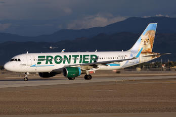N232FR - Frontier Airlines Airbus A320