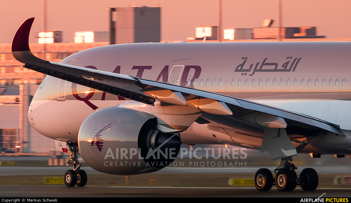 Qatar Airways A7-ALL aircraft at Munich
