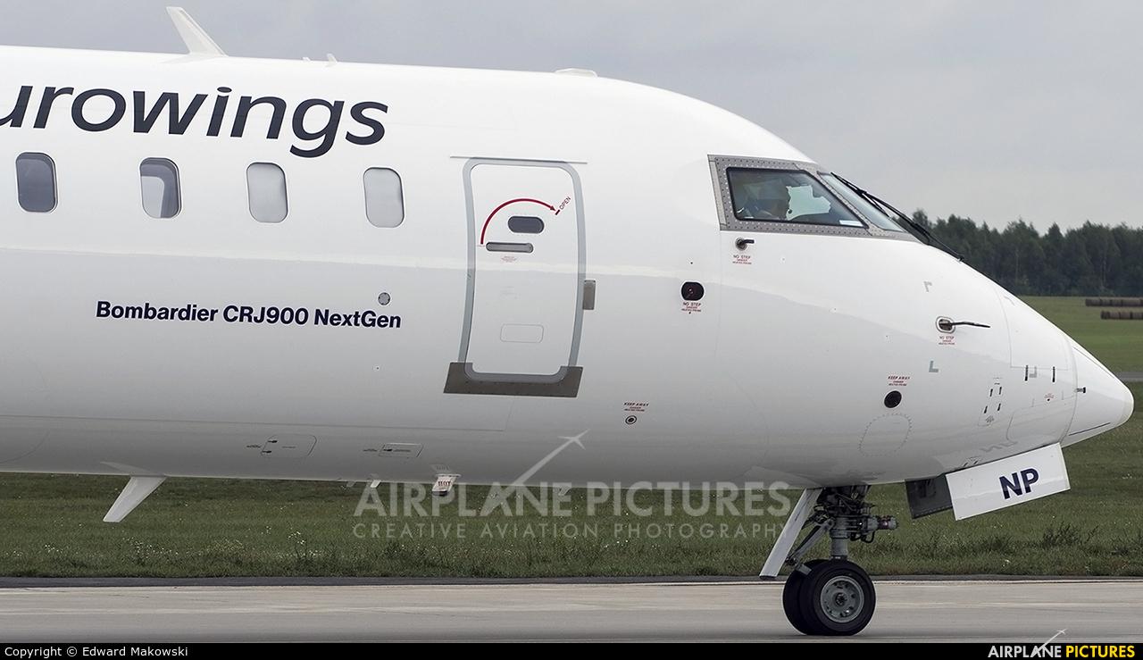 Eurowings D-ACNP aircraft at Poznań - Ławica