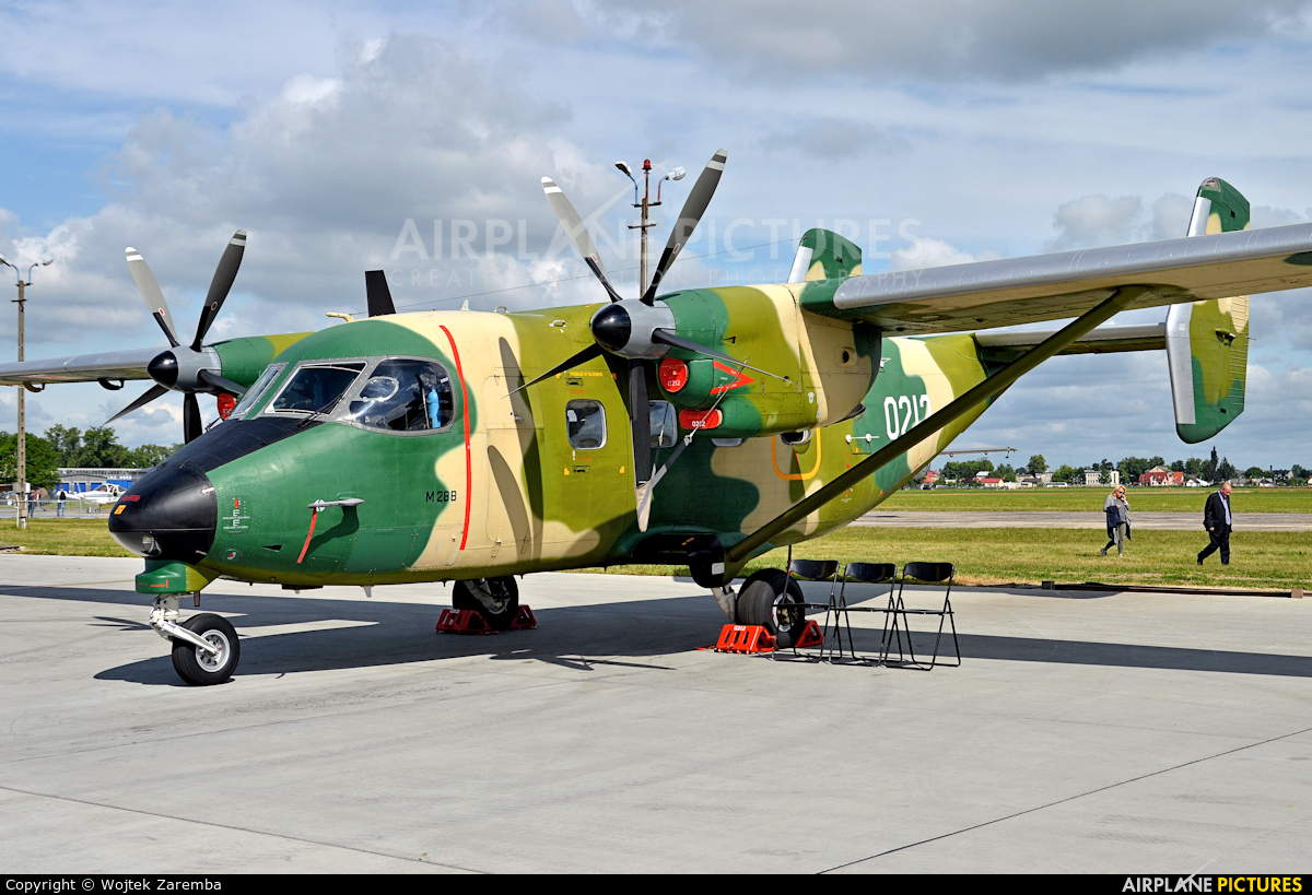 Poland - Air Force 0212 aircraft at Dęblin