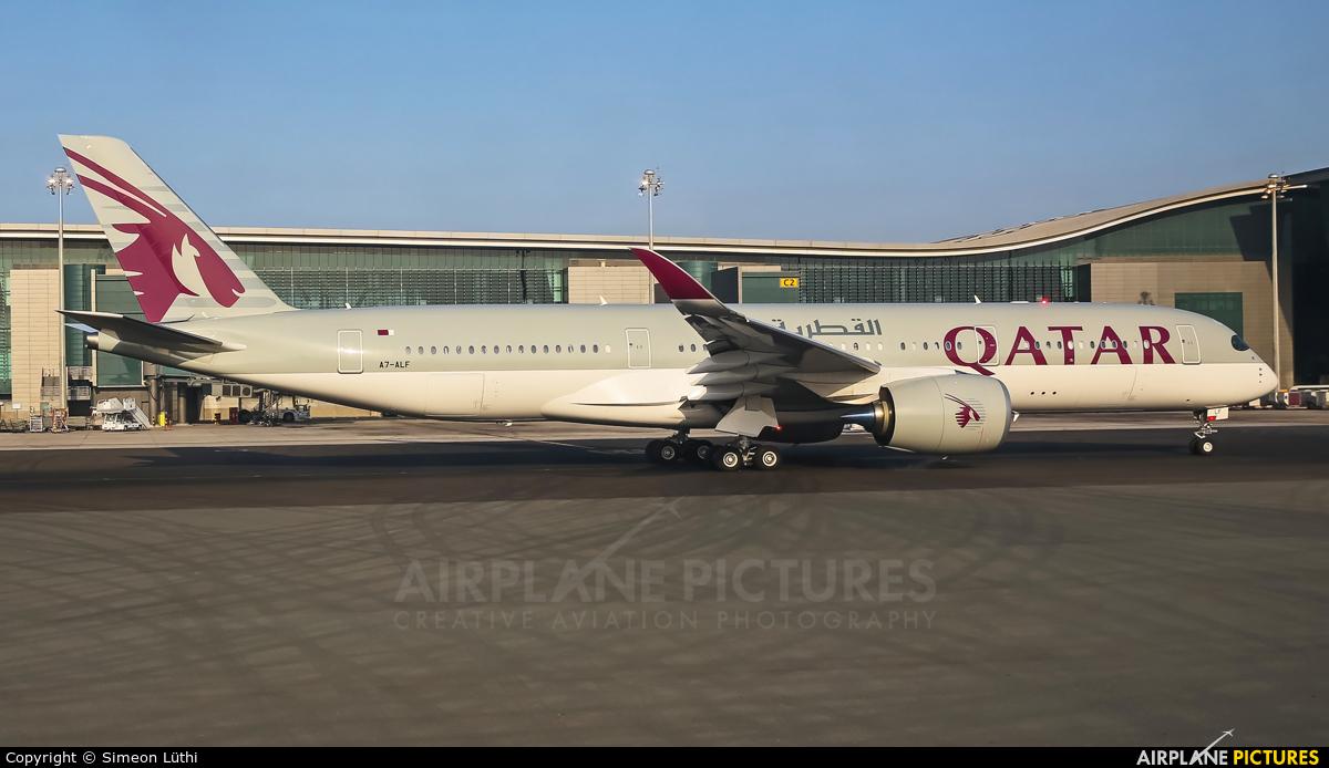 Qatar Airways A7-ALF aircraft at Doha