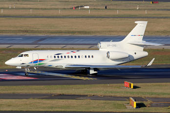 VP-CRS - Volkswagen Air Service Dassault Falcon 7X