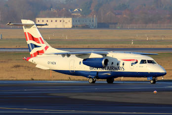OY-NCN - British Airways - Sun Air Dornier Do.328JET