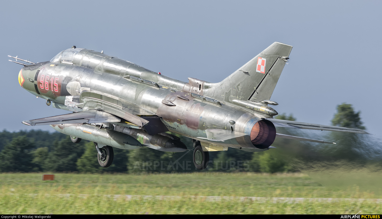 Poland - Air Force 9615 aircraft at Mirosławiec