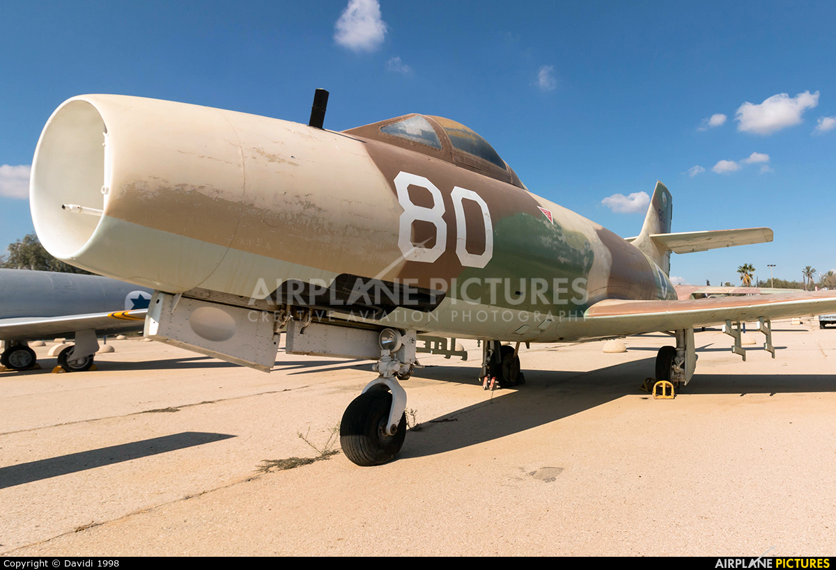 Israel - Defence Force 80 aircraft at Beersheba - Hatzerim