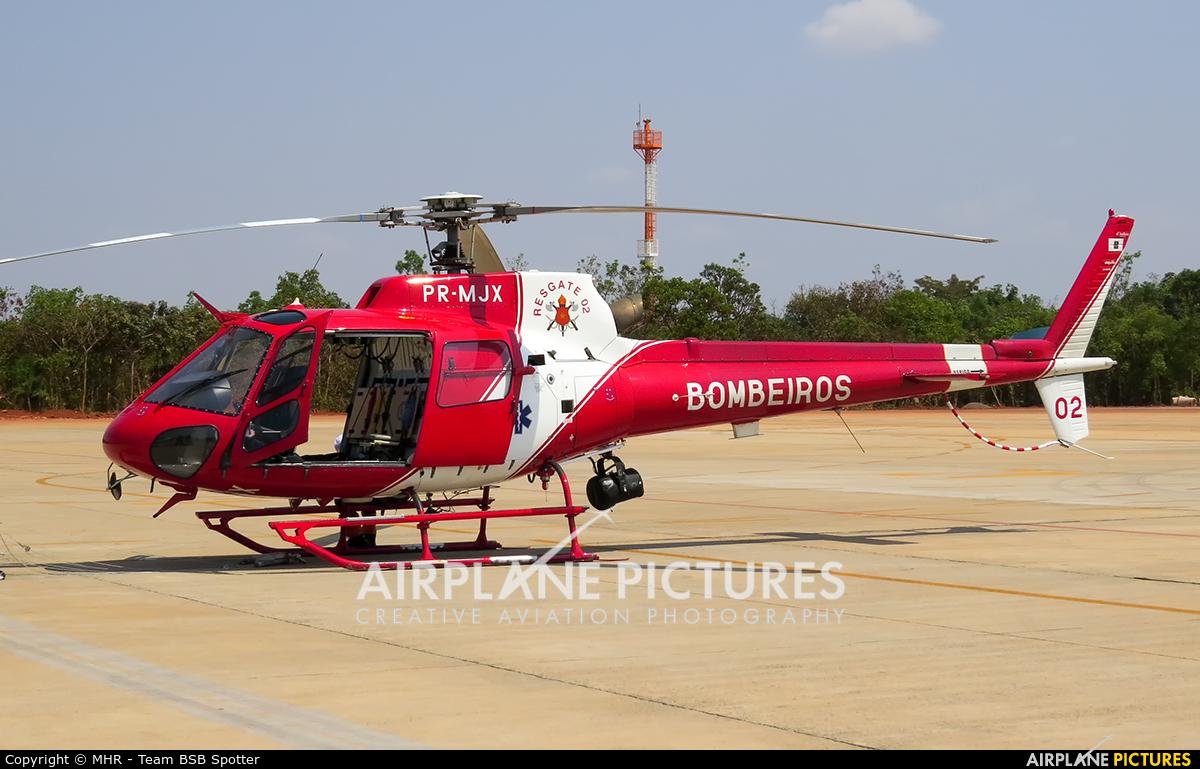 Brazil - Military Police PR-MJX aircraft at Brasília - Presidente Juscelino Kubitschek Intl