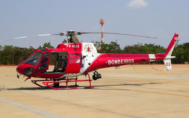PR-MJX - Brazil - Military Police Eurocopter AS350 Ecureuil / Squirrel