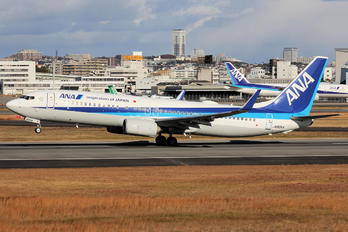 JA80AN - ANA - All Nippon Airways Boeing 737-800