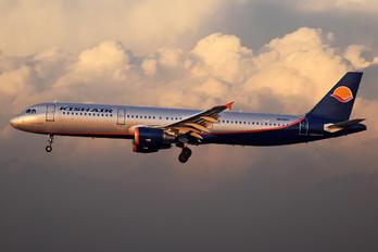 UR-CPH - Kish Air Airbus A321