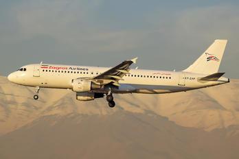 EP-ZAP - Zagros Air Airbus A320