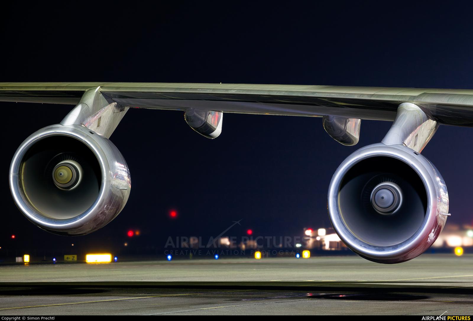 Cargolux LX-VCV aircraft at Linz