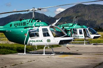 PNC-0910 - Colombia - Police Bell 206B Jetranger III