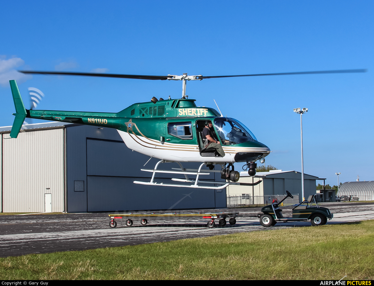 Indian River County Sheriff's Office N911UD aircraft at Vero Beach Municipal
