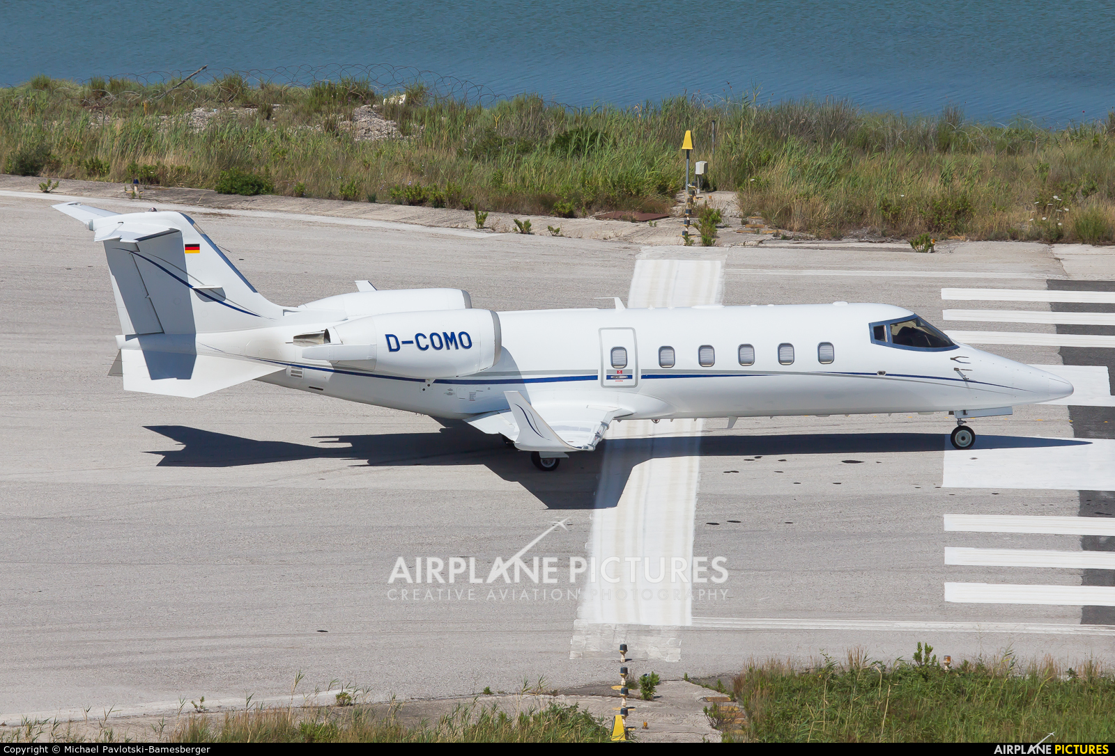 Private D-COMO aircraft at Corfu - Ioannis Kapodistrias