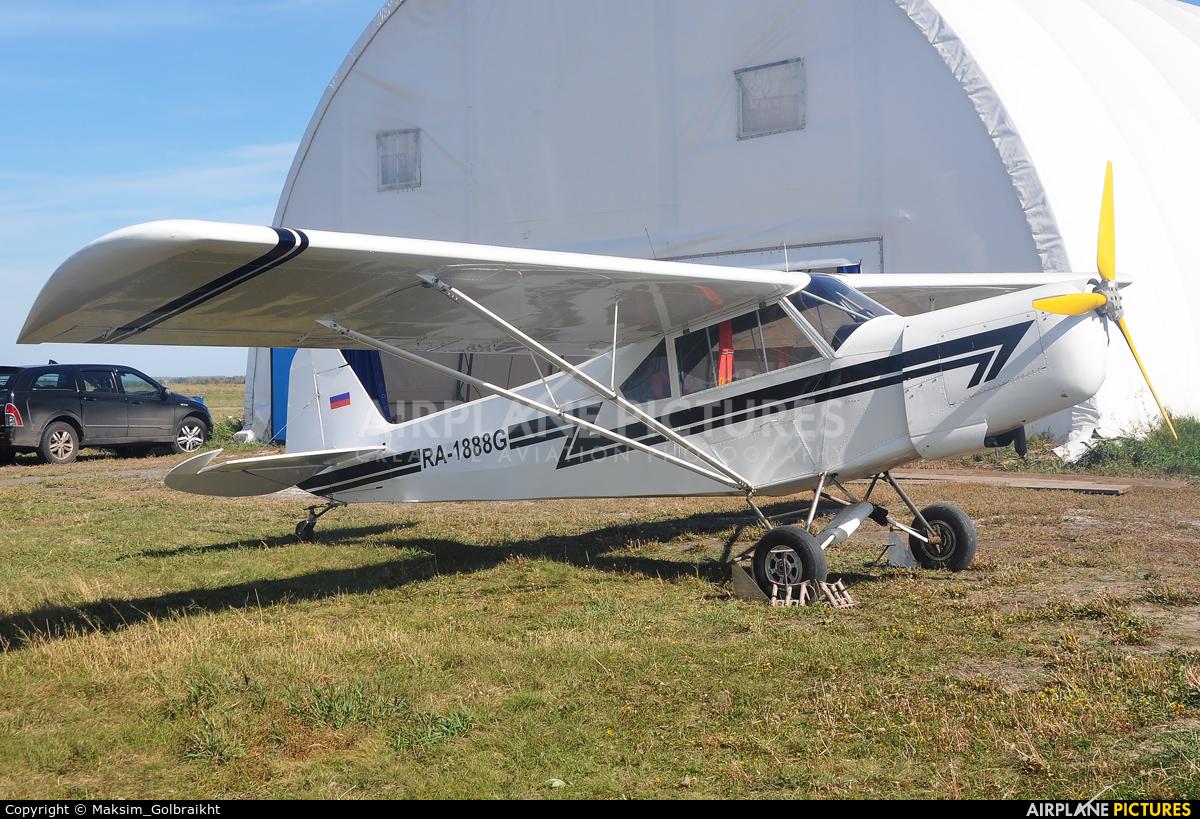 Private RA-1888G aircraft at Omsk Tsentralny