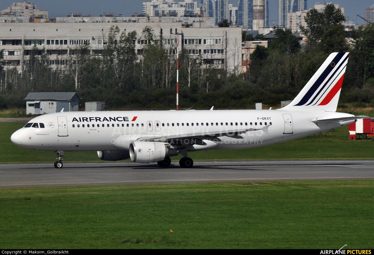 Air France F-GKXT aircraft at St. Petersburg - Pulkovo