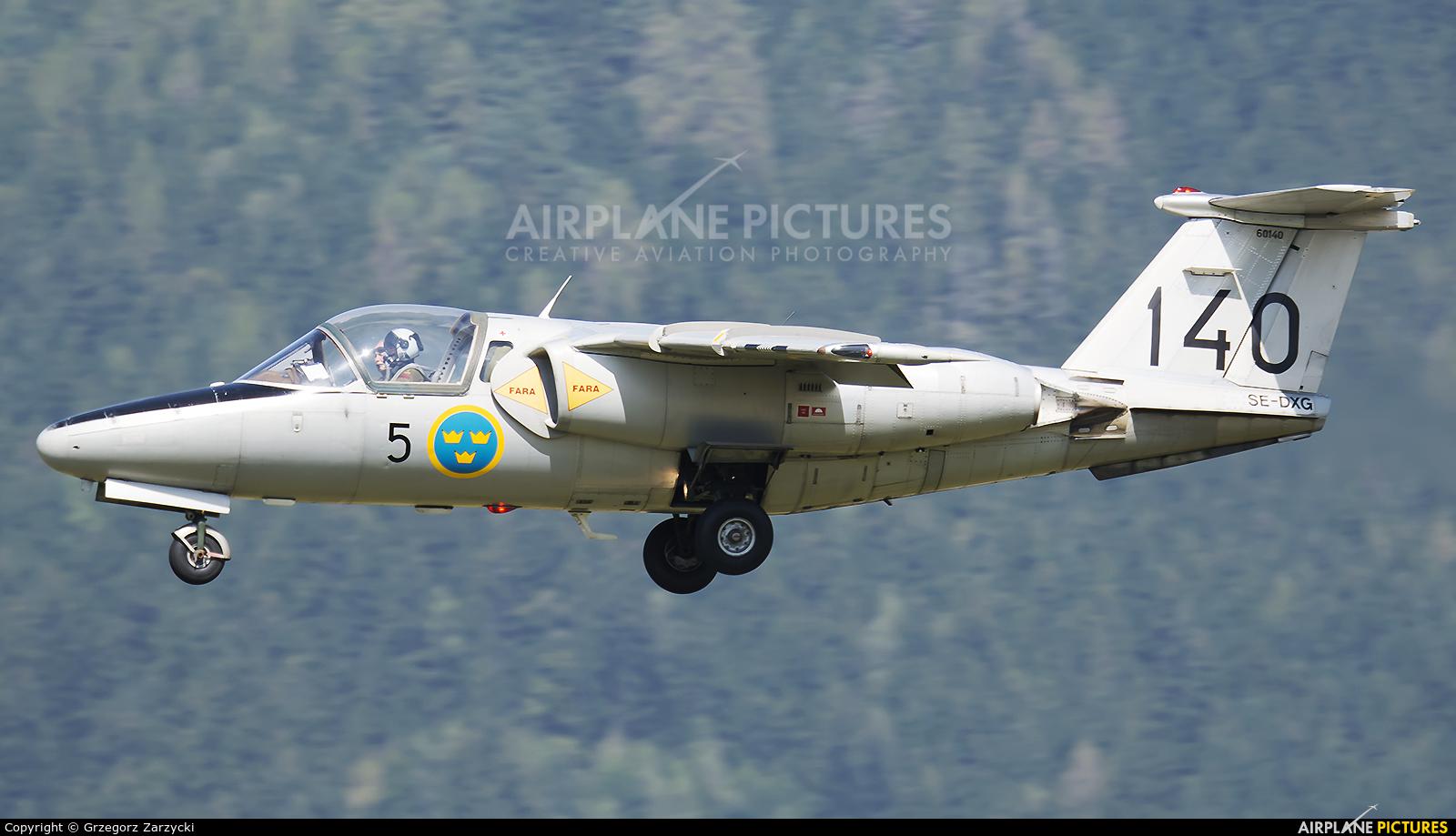 Swedish Air Force Historic Flight SE-DXG aircraft at Zeltweg