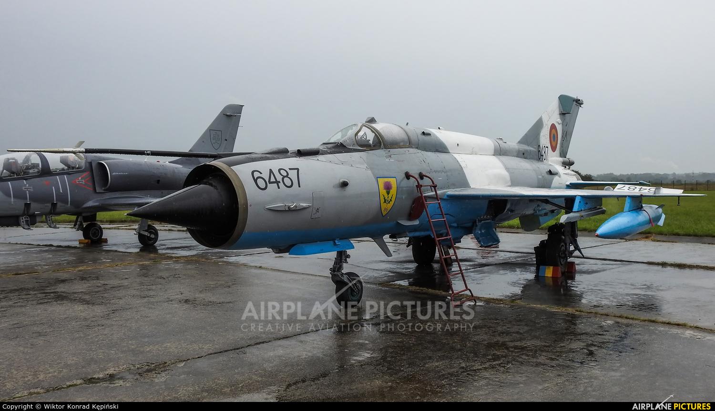 Romania - Air Force 6487 aircraft at Ostrava Mošnov