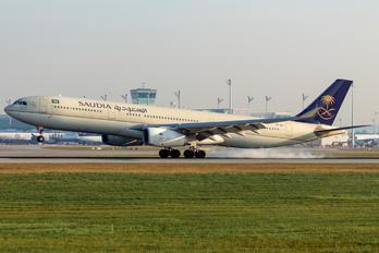 HZ-AQJ - Saudi Arabian Airlines Airbus A330-300