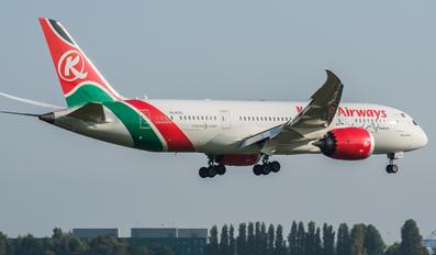 5Y-KZC - Kenya Airways Boeing 787-8 Dreamliner