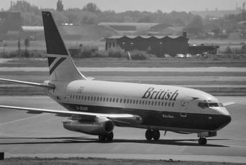 G-BGDR - British Airways Boeing 737-200