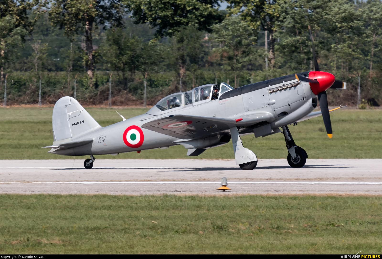 Private I-MRSV aircraft at Rivolto