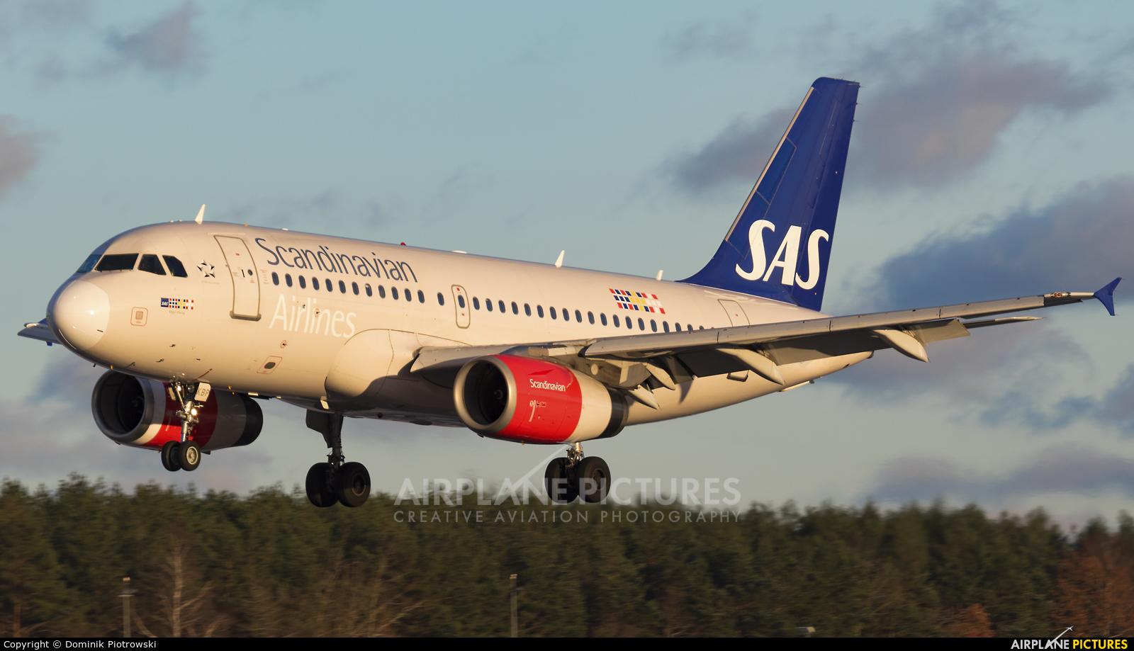 SAS - Scandinavian Airlines - aircraft at Gdańsk - Lech Wałęsa